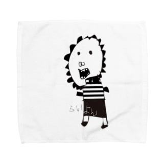 CHU〜NANのらいよんハンカチ Towel handkerchiefs