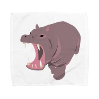 かば Towel handkerchiefs