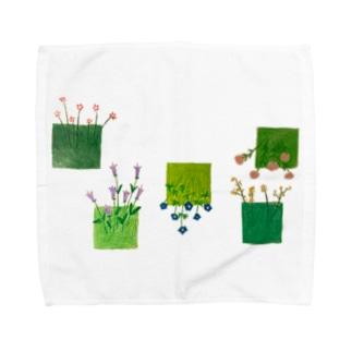 こころの庭 Towel Handkerchief