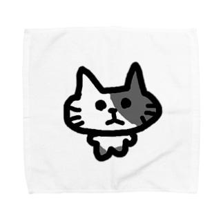 きゃっつ Towel handkerchiefs