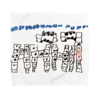 Daughter's drawing 20220307 Towel handkerchiefs
