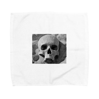 the  skull Towel handkerchiefs
