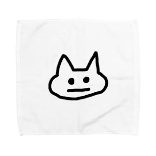 まがおねこ Towel handkerchiefs