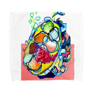 どりゃどりゃドリアン Towel handkerchiefs
