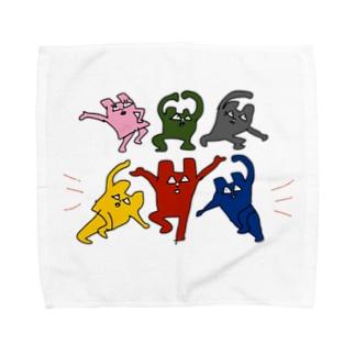 くまどんズタオルハンカチ Towel handkerchiefs
