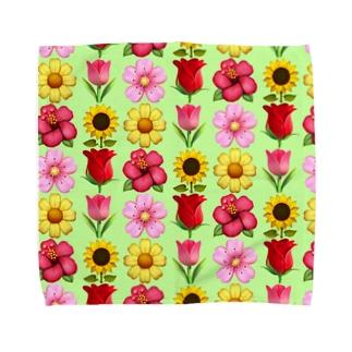 春  Towel handkerchiefs