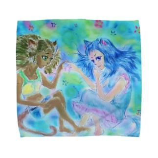 アニマロイド少女達 Towel handkerchiefs