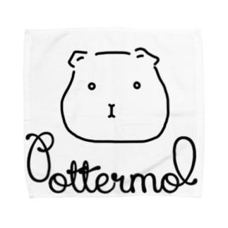 ぽたもる_Pottermol Towel handkerchiefs