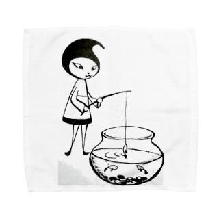 Pixlast(Ramil〈ラミル〉)釣りver. Towel handkerchiefs