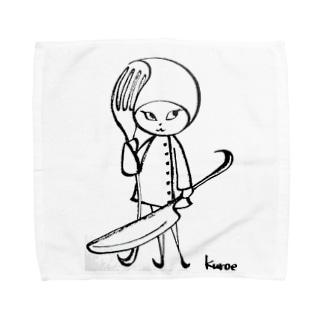Pixlast(Rutie〈ルティ〉)ナイフ・フォークver. Towel handkerchiefs