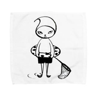 Pixlast(Voger〈ボガー〉) うきわver. Towel handkerchiefs