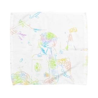 予言書学術 Towel handkerchiefs
