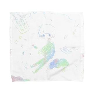 天変地異 Towel handkerchiefs