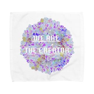 Crystal☆Flower Towel handkerchiefs