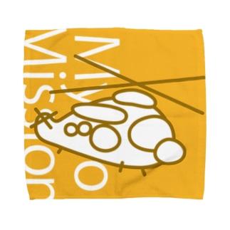 MycroMission@UH-60J【タオル・S/M/L】 Towel handkerchiefs