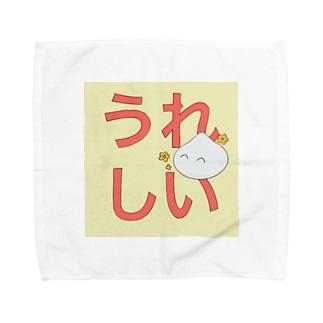 うれしいスライム Towel handkerchiefs