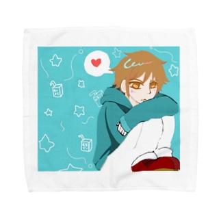 コイワズライ Towel handkerchiefs