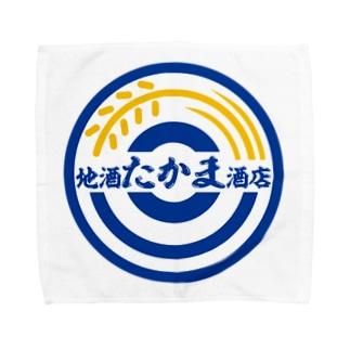パ紋No.2872 地酒たかま酒店 Towel handkerchiefs