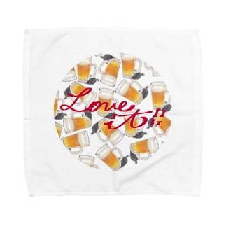 Beer(Love it!!) Towel handkerchiefs