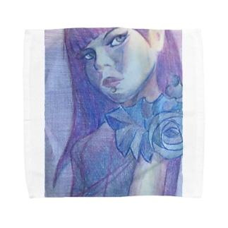 エストニアのアーティスト Towel handkerchiefs