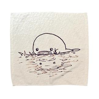 まだ水濡れを知らぬOTAMA Towel handkerchiefs