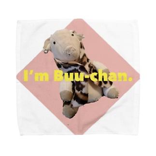 ウチのブーちゃん Towel handkerchiefs