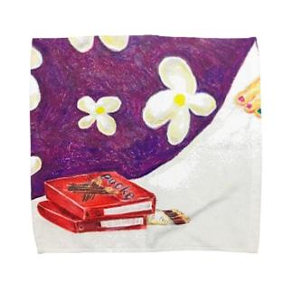 ポッキーと Towel handkerchiefs
