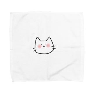 てきとうねこ Towel handkerchiefs