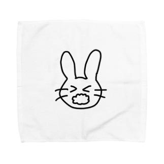 あわあわうさぎ Towel handkerchiefs