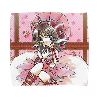 らんさんのテキトー手探り手抜きショップのバレンタイン Towel handkerchiefs
