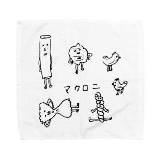 マカロニ Towel handkerchiefs