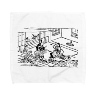 蛇性の淫 Towel handkerchiefs