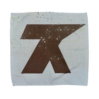 Speed 'in between blues' - ス Towel handkerchiefs