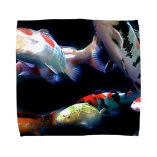 錦鯉たち Towel handkerchiefs
