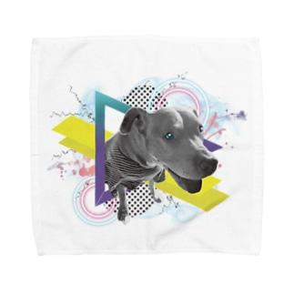 犬 Towel handkerchiefs