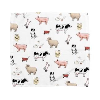 Fun ranch Towel handkerchiefs