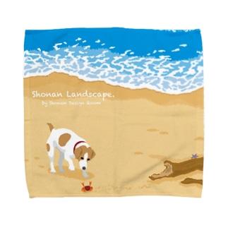湘南ランドスケープ04:渚の遭遇 Towel handkerchiefs