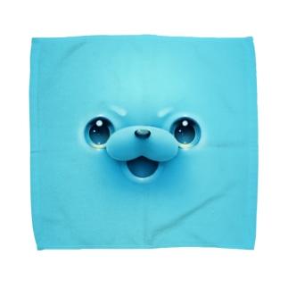 わらびもーち Towel Handkerchief