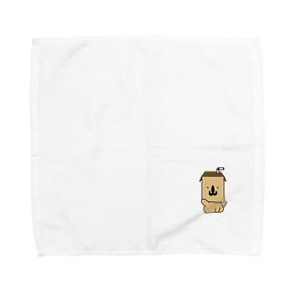 PACK DOG(モカ) Towel handkerchiefs