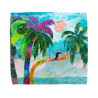 ココナッツツリー Towel handkerchiefs