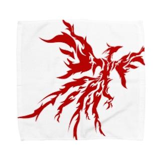 赤い翼 Towel handkerchiefs