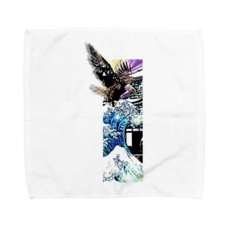 アクボクトウセン Towel handkerchiefs
