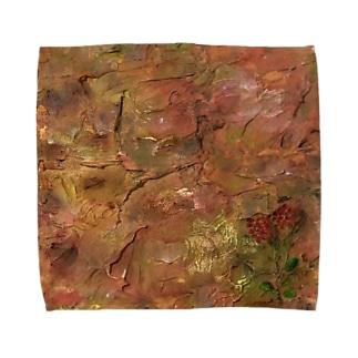 マチエール/カランコエ Towel handkerchiefs