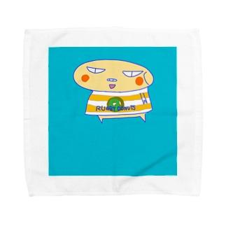 ラグビードーナツ🍩 Towel handkerchiefs