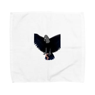 ハゲみいる Towel handkerchiefs
