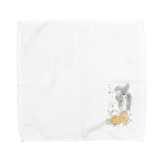 化粧水こぼす人用 Towel handkerchiefs