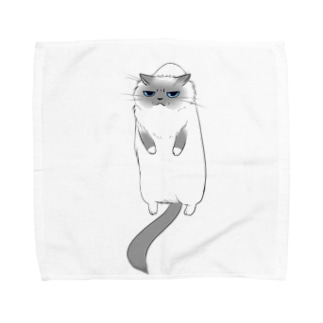 ももにゃんタオル Towel handkerchiefs