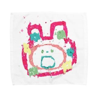 ゆるたろう Towel handkerchiefs