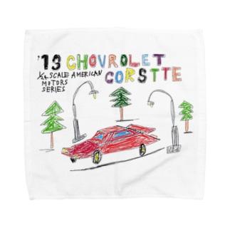 CHOVROLET CORSTTE Towel handkerchiefs