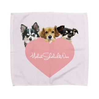 Moka&Shokichi&Noa パウダーピンクL Towel handkerchiefs